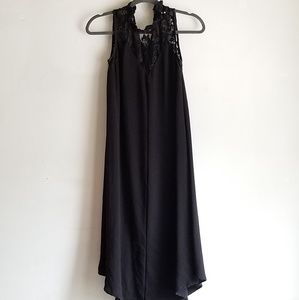 Flowy Crepe Summer Goth Dress by Wrapper Size S